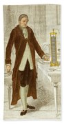 Alessandro Volta, Italian Physicist Beach Towel by Science Source