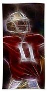 Alex Smith - 49ers Quarterback Beach Towel
