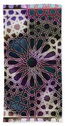 Alhambra Pattern Beach Towel
