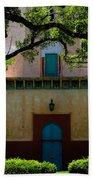 Alhambra Water Tower Doors Beach Towel