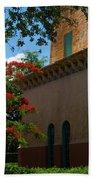 Alhambra Water Tower Windows And Door Beach Towel