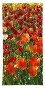 Alone In A Crowd Beach Towel
