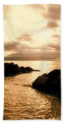 Alone With Your Thoughts Beach Towel