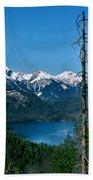 Alp See Lake In Bavaria Germany Beach Towel