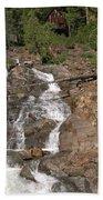 Alpine Creek Falls Lake Tahoe Beach Towel