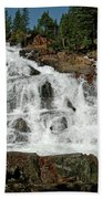 Alpine Falls Glen Alpine Falls Lake Tahoe Beach Towel