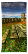 Alwen Reservoir Beach Towel