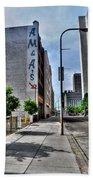 Am And As Downtown Buffalo Vert Beach Towel