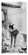 Ambroise Par�, French Surgeon, Pioneer Beach Towel by Science Source