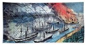 American Civil War, Farraguts Fleet Beach Towel