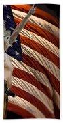American Cowgirl Beach Towel