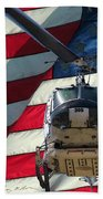 American Hero 1 Beach Towel
