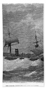 American Steamship, 1870 Beach Towel