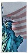 American Welcome Beach Towel