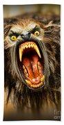 American Werewolf Beach Towel