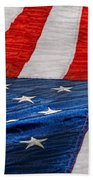 Americana - Flag - Stars And Stripes  Beach Towel