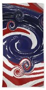 Americas Palette Beach Towel