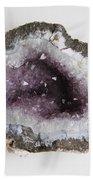 Amethyst Geode Beach Towel
