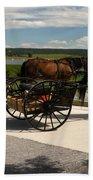 Amish Buggies Beach Towel