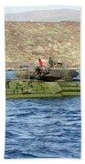 Amphibious Assault Vehicle Crewmen Beach Towel