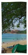 An Active Sosua Beach In Dr Beach Towel