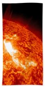 An M8.7 Class Flare Erupts On The Suns Beach Towel