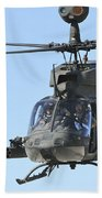 An Oh-58 Kiowa Takes Beach Towel