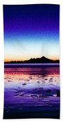 Anchor Point Beach Twilight Beach Towel