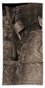 Ancient Warrior Beach Towel