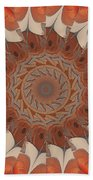 Ancient Wheel Of Time Beach Towel