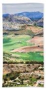 Andalucia Countryside Beach Sheet