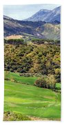 Andalusia Landscape Beach Towel