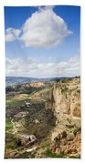 Andalusia Landscape In Spain Beach Sheet