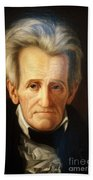 Andrew Jackson, 7th American President Beach Towel