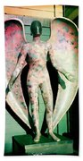 Angel In The City Of Angels Beach Towel