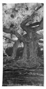 Angel Oak Beach Towel