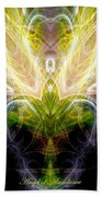 Angel Of Abundance Beach Towel