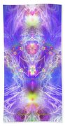 Angel Of Ascension Beach Towel