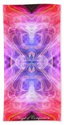 Angel Of Compassion Beach Towel