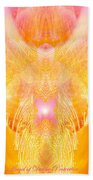 Angel Of Divine Protection Beach Towel