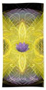 Angel Of The Moon Beach Towel