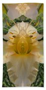 Angelic Lily Beach Towel