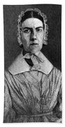 Angelina Grimk�, American Abolitionist Beach Towel by Photo Researchers