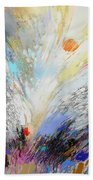 Angels Presence  - Square Painting Beach Towel