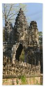 Angkor Archaeological Park II Beach Towel