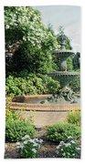 Annapolis Fountain Garden Beach Towel