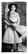 Annie Oakley (1860-1926) Beach Towel