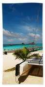Another Day. Maldives Beach Towel