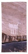 Antelope House Petroglyphs Beach Towel