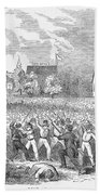 Anti-german Riot, 1851 Beach Towel